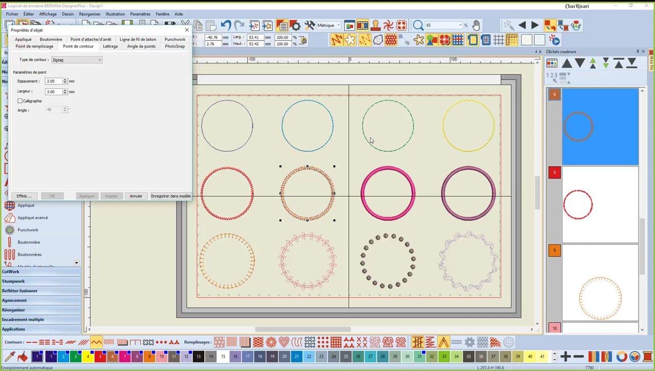 Bernina 8 (2) - Cours n°1 - Outils de formes et points de contours.mp4