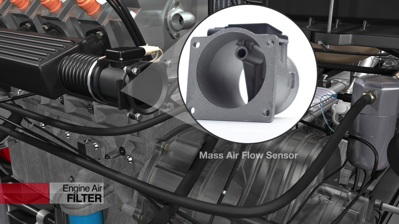 Engine Air Filter - Mass Airflow Sensor