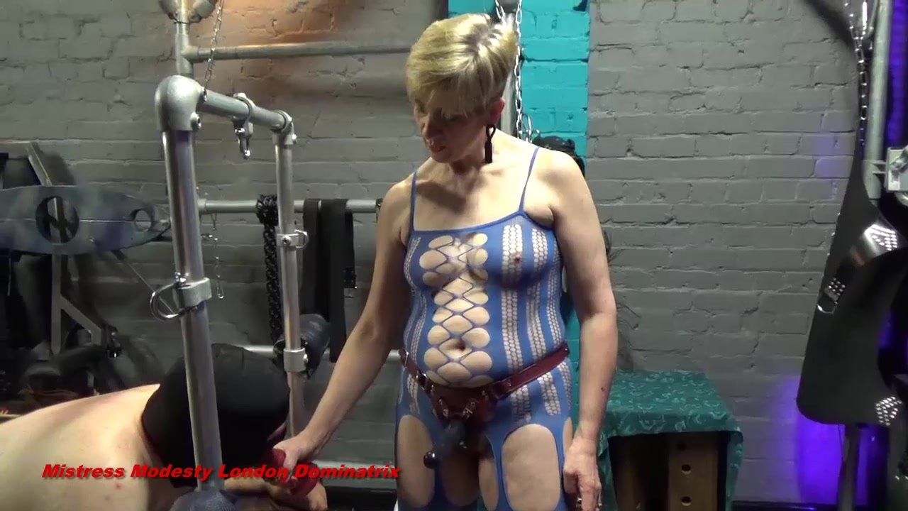 A Strap-On Fucking For Sub JR