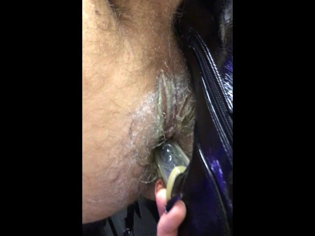 Dirty hole gets Heel Fucked.