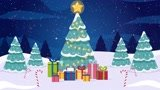 Make you a Christmas & New Year Greetings Animation Video