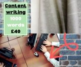 Complete 1000 words of tailored content in 2 days!