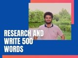 Research and write 500 words for you in 10 dollars.