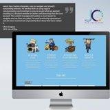 Develop a custom website using DIVI WordPress Theme