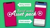 Create a social media asset pack
