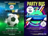 Trendy World cup 2018 Flyers and Posters in one day