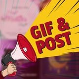GIF or a POST for every social site and your website.