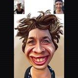 Do best quality caricature portrait