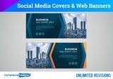 Create social media (ALL) covers - FB, Linkedin, YT, Twitter G+