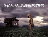 Design a digital Halloween Poster