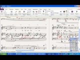 Notate, engrave and transpose sheet music in Sibelius or Finale