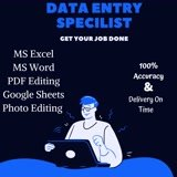 Do your data entry related work of 10 hours