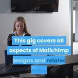 Do email marketing, automation, Landing pages for mailchimp