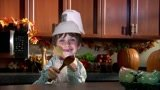 Put any picture for Swedish Chef's face in the bellow video
