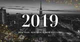 Design 2019 New Year Video Banner, flyer, poster | GIF