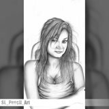 Draw your photo to an elegant pencil or digital drawing
