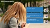 Make an animated text message conversation